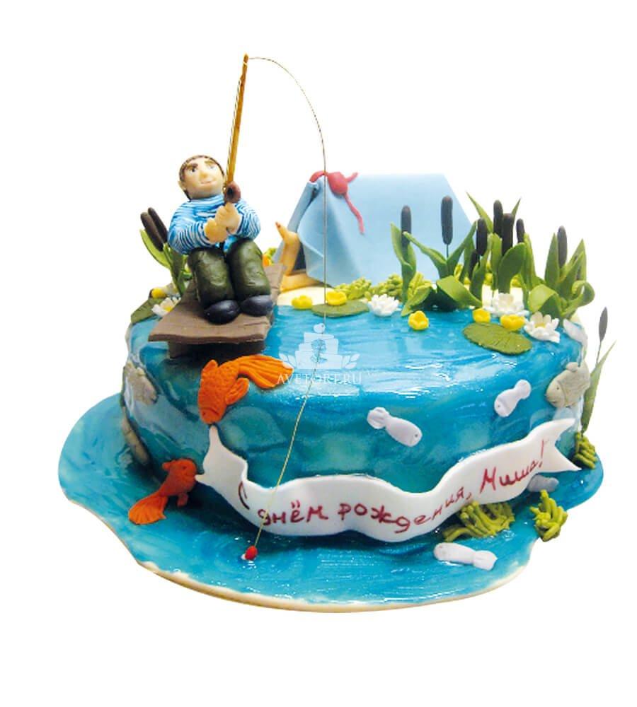 Торт рыбаку мастер