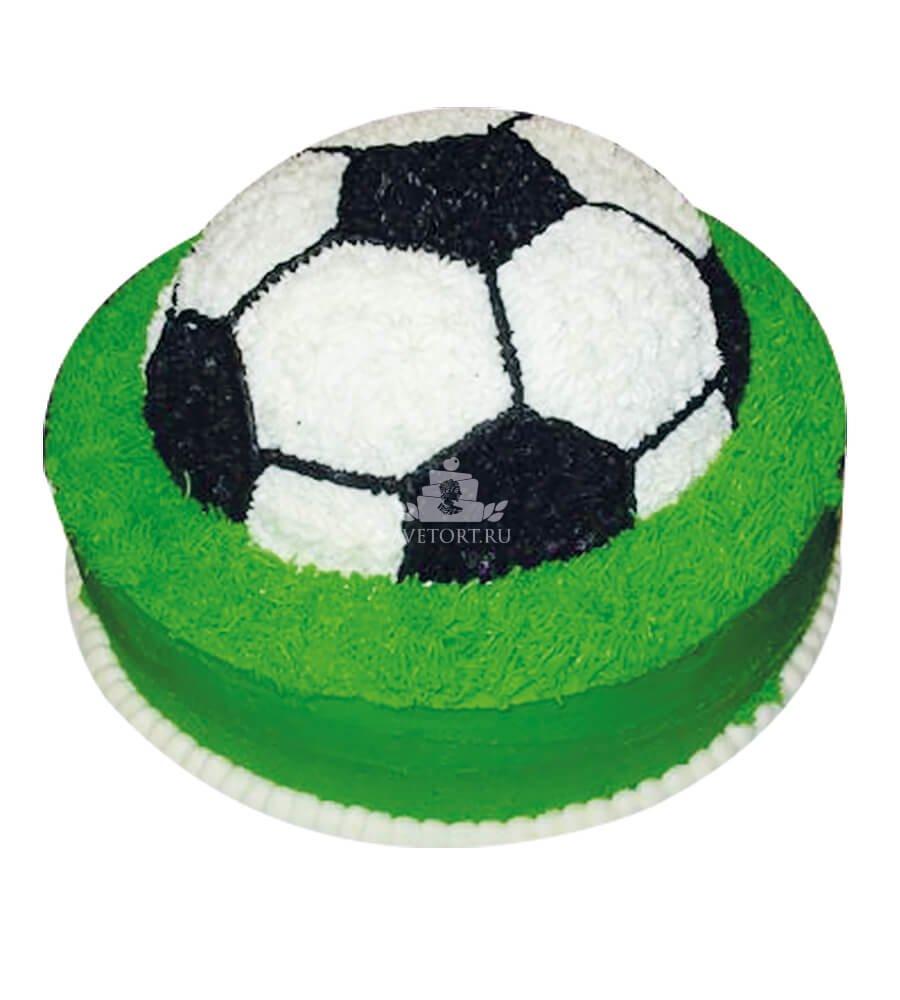 Торт в форме футбольного мяча своими руками 1