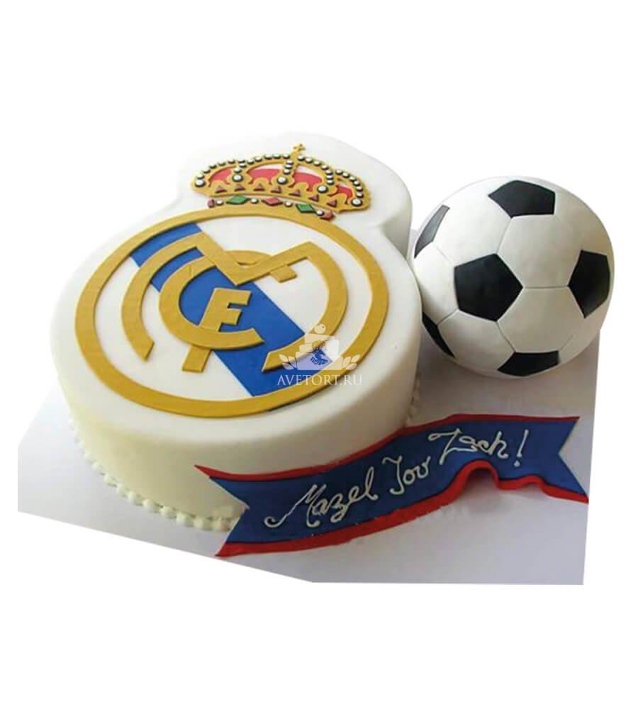 Футбольные торты реал мадрид фото
