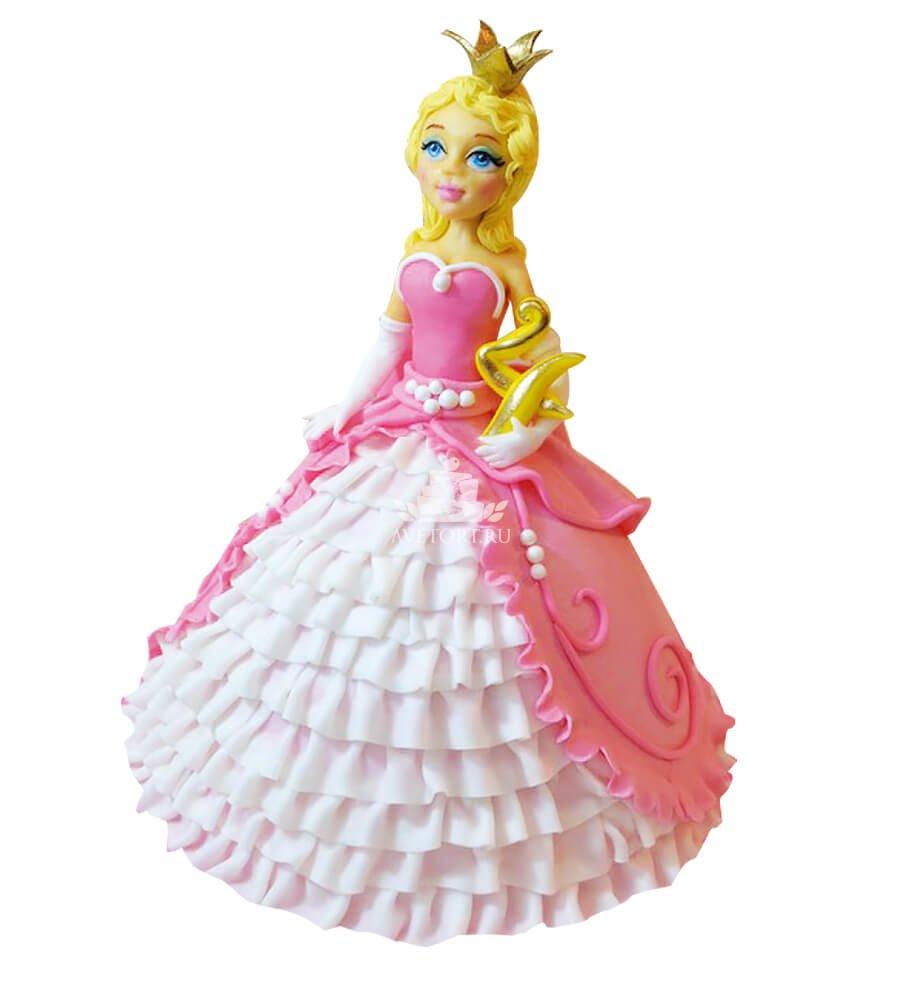 торт принцесса фото детский