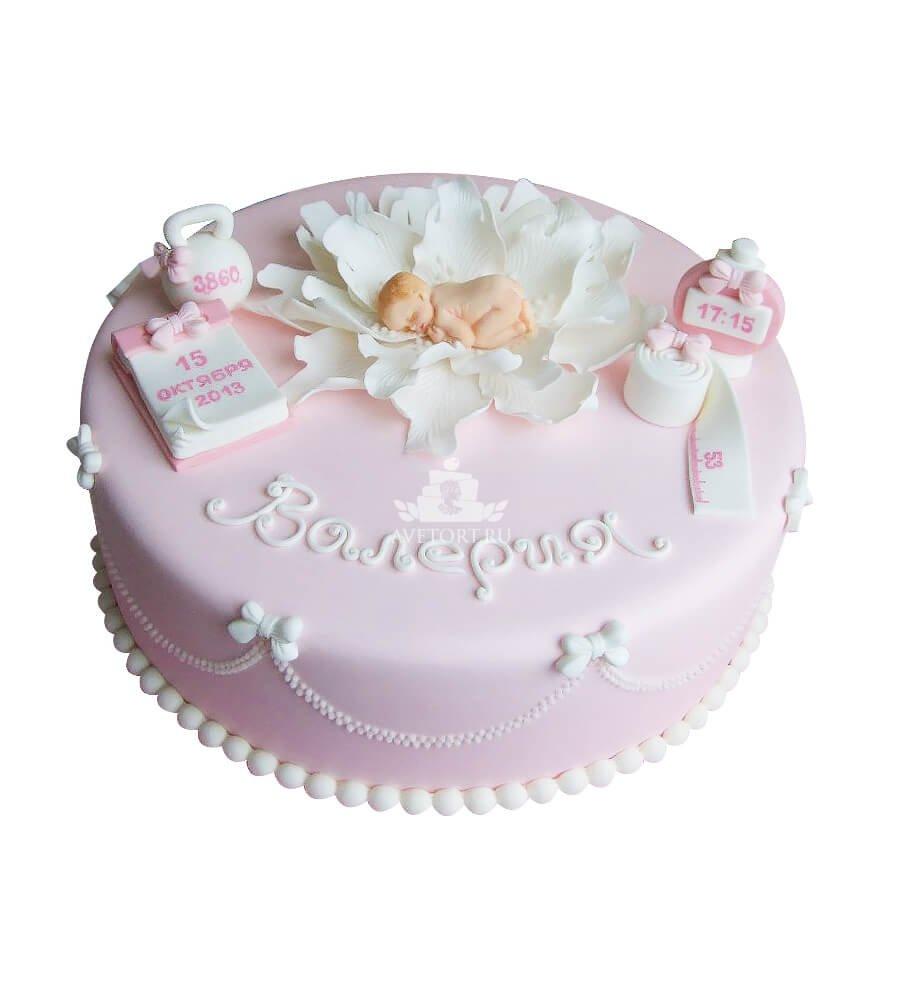 Торт на рождение дочки своими руками 715