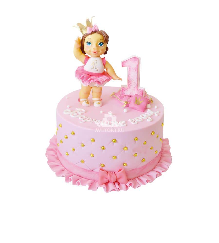 Торт девочке на 1 год фото