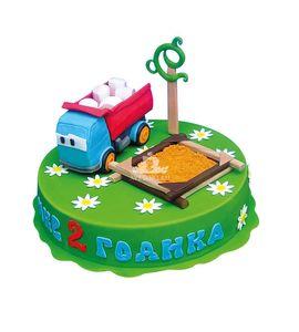 Торт Грузовичок с песочницей