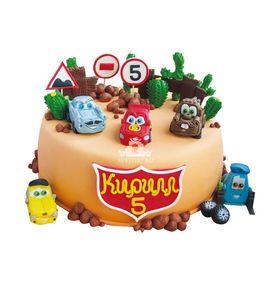 Торт Машинки-друзья