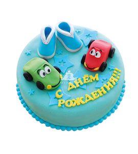 Торт Машинки и пинетки