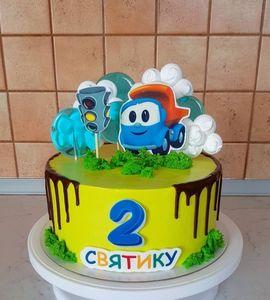 Торт машинка №215059