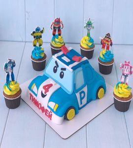 Торт машинка №215074