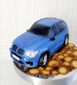 Торт машинка №215082