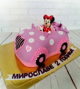 Торт машинка №215096