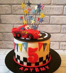 Торт машинка №215107