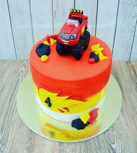 Торт машинка №215117