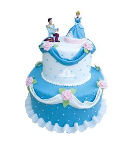 Торт Золушка с принцем