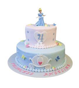 Торт Принцесса Золушка