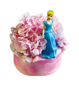 Торт Золушка в цветах