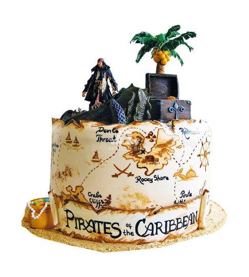 картинка остров сокровищ на торт данном месте волге